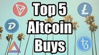 TOP 5 ALTCOINS TO BUY IN JULY!!!