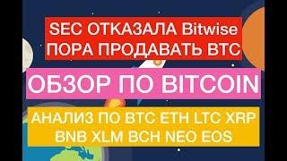 Прогноз по Биткоин, BTC, ETH, LTC, XRP, EOS, XLM, BNB, NEO, BCH на 15 Мая!