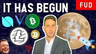 BITCOIN'S BULL RUN HAS BEGUN? Bitcoin Cash Litecoin VeChain Dogecoin Elon Musk Ontology