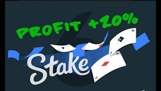 ● STAKE.COM ● PLAY VIDEO POKER IN AUTO MODE ● PROFIT +20% ●