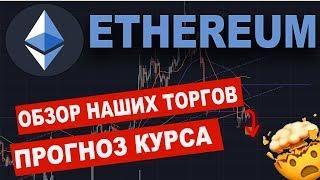 Криптовалюта ЭФИРИУМ Прогноз! Ethereum Анализ Графика!