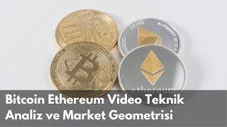 Bitcoin Ethereum Video Teknik Analiz ve Market Geometrisi