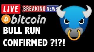 Bitcoin BULL RUN CONFIRMED?! - LIVE Crypto Market Trading Analysis & BTC Cryptocurrency Price News
