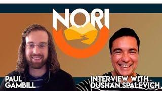 Nori - CEO Paul Gambill Interview With Dushan Spalevich for ICO TV