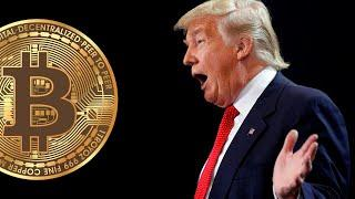 Трамп про биткоин. Будущее биткоина. Новости криптовалют