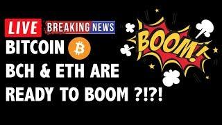 Bitcoin Cash (BCH/BTC) & Ethereum to BOOM?! - Crypto Market Technical Analysis & Cryptocurrency News