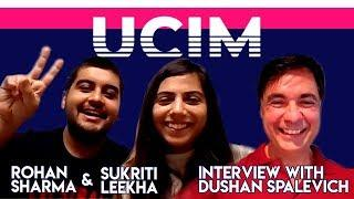UCIM Singapore Conference Founders Rohan & Sukriti Interview With Dushan Spalevich for ICO TV
