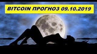Прогноз курса биткоин(bitcoin, btc) 09.10.2019