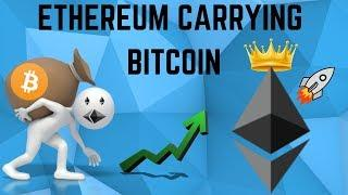 Ethereum CARRYING Bitcoin Higher! Here's Why! (ETH Technical Analysis)