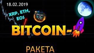 Bitcoin - ракета летит!!! Ethereum, XRP, EOS - чего ждать дальше?