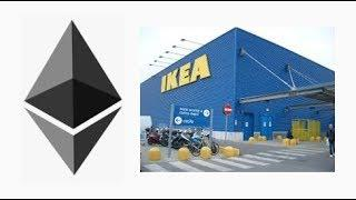 Ethereum(ETH)'s smart contracts being use for payments at IKEA