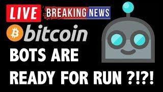 Bitcoin BOTS PREPARE FOR RUN?! - LIVE Crypto Market Trading Analysis & BTC Cryptocurrency Price News
