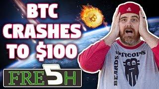 Bitcoin Crashes to $100   HUGE $IOST NEWS!!!   Bullish Signs Everywhere
