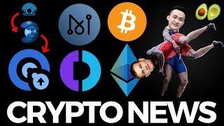 Justin Sun vs Vitalik, Ethereum vs Bitcoin, Digitex Futures, Matrix AI Network - Crypto News