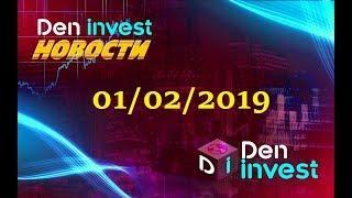 Den Invest новости 01.02.2019 новые хайп проекты 2019