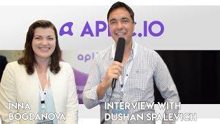 Aplic.io - CEO Inna Bogdanova Interview With Dushan Spalevich for ICO TV