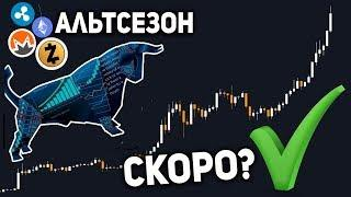 Альткоины Шанс на Рост Есть НО... 4 Месяца Ожиданий Бычьего Рынка 2020 Точный Прогноз Эксперта