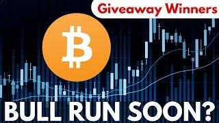 Highest BTC Volume and Parabolic Bitcoin Bull Run Soon! Giveaway Winners - Crypto News