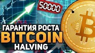 Биткоин Гарантия Роста После 2020 Года! Bitcoin Halving Декабрь 2018 Прогноз