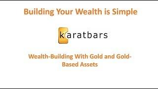 Last Weeks To Build Wealth With Gold-Backed Crypto Assets - August 7 Presentation #karatbars