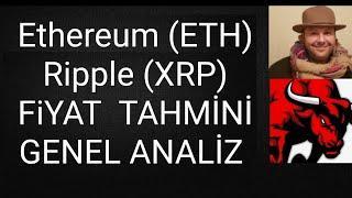 ETHEREUM ve Ripple teknik ve genel analiz ve fiyat tahmini #bitcoin # altcoin