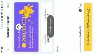 Aplikasi yg membagikan uang hingga 5btc setara pr 500 juta! Langsung hajar Nyesel gk nonton Coinclub