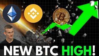 Bitcoin Reaches New 2019 High! Binance DEX, Ethereum Staking, Top Crypto News