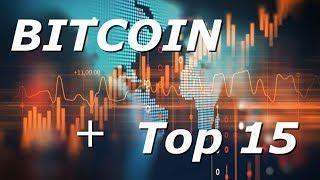 Обзор криптовалюты BITCOIN + TOP 15 - [03/07/2019]