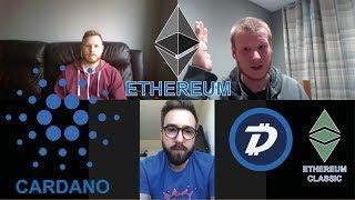 Ethereum Developer Hashoshi! Eth Vs Cardano! Talking Digibyte & Eth Classic! #Podcast 44