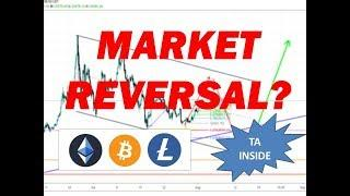 BITCOIN LITECOIN ETHEREUM BULL MOVES - We nailed this TRADE - Price targets Technical Analysis