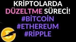 Kripto Paralarda Düzeltme!! Bitcoin, Ethereum, Ripple Son Durum 5.06.2019