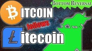BITCOIN FOLLOWS LITECOIN | BTC/LTC Price Update