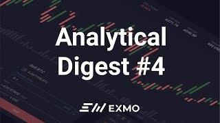 EXMO Analytical Digest #4 | Рост Биткоина и другие новости рынка криптовалют