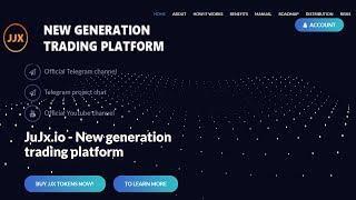Обзор Проекта Нового Поколения JUJX на Смарт Контракте Ethereum