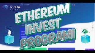 Güvenilir Ethereum Yatırım Projesine Katılın ! - GetETH.io