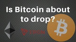 Bitcoin and Ethereum weak, Tron holding up