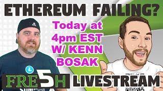 Ethereum Failing?   ETF Coming   Quadriga Conspiracy  w/ Guest Kenn Bosak