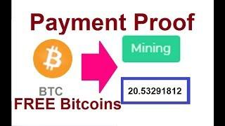 New Free Bitcoin Cloud Mining Site | Live Payment Proof | 100% free Earning | No Investment