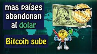 mas países abandonan el dolar, bitcoin sube, siguiente moneda en coinbase?