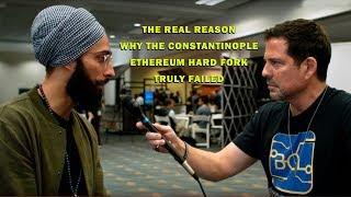 Why Did the Constantinople Ethereum Hard Fork Fail?