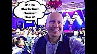 Malta Blockchain Summit Day 1 | Prime Minister of Malta | Battle of Jurisdiction for ICOs