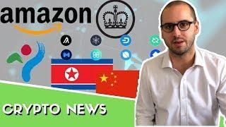 La Chine lance sa crypto - Binance Hack - Bitcoin à 250k$ - Amazon crypto - Nvelles cryptos Coinbase