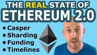 The REAL State of Ethereum 2.0 (Casper, Sharding, Funding, Timelines). Why I Sold 40% my ETH for EOS