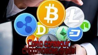 Como ganhar criptomoeda grátis! (BITCOIN, ETHEREUM, LITECOIN, DOGECOIN, ETC)