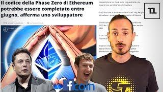 Elon Musk ed Ethereum 2.0, Facebook Coin e Tether - CryptoMonday News