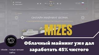 Mizes Облачный майнинг платит до 3% в день Работает уже 104 дня