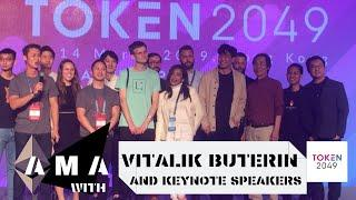 AMA With Vitalik Buterin and Keynote Speakers at Ethereum Supermeetup 2019