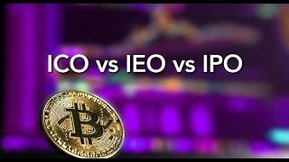 What is the Difference Between ICO, IEO, STO, IPO - Crypto Investing
