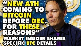 """""""NEW ATH Coming To BITCOIN Before DEC. For THESE Reasons"""" Market Insider Shares Specific BTC Details"""