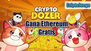 CryptoDozer Juego para ganar Ethereum GRATIS | CriptoJuego